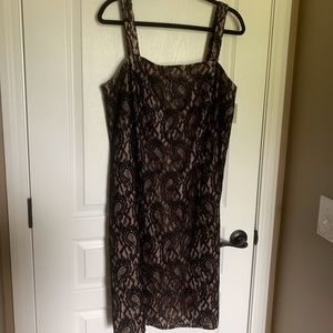 Jessica Howard Black Lace dress
